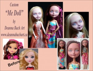 art doll custom me doll