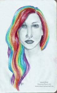 """""""Rainbow Hair"""""""
