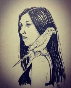 """""""Bird Girl"""""""