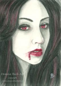 """""""Vampire Portrait"""""""