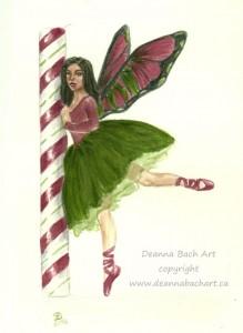 """Candy Cane Ballet"""